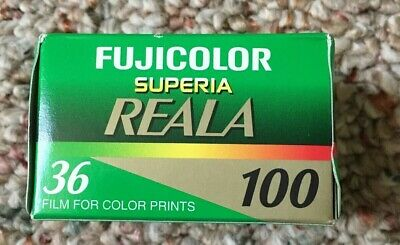 Fuji Reala 100 Superia 100 35mm Film Expired 2009 C-41 As Is Read