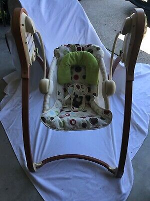 Wooden Fisher Price Studio Baby Swing!