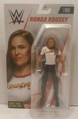 """RONDA ROUSEY WWE Series 90 First Time In The Line NEW Mattel Basic 6/"""" Wrestling"""