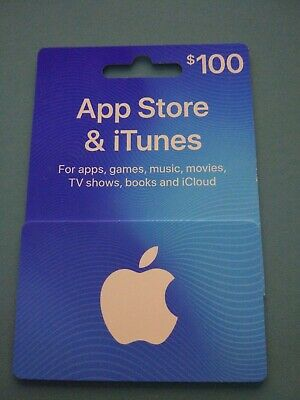 App Store & iTunes Gift Cards $100 - Email Delivery