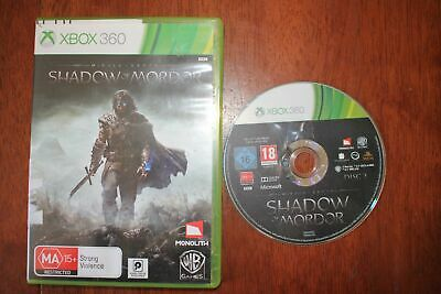 Middle Earth: Shadow of Mordor (Xbox 360) [PAL] - WITH WARRANTY