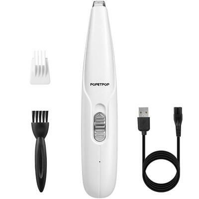 Cordless Pet Paw Hair Clipper Cat Dog Rechargeable Trimming Grooming Feet Shaver