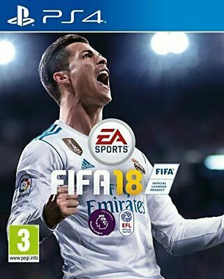 FIFA 18 PS4 Inc Fast Free Postage/Dispatch
