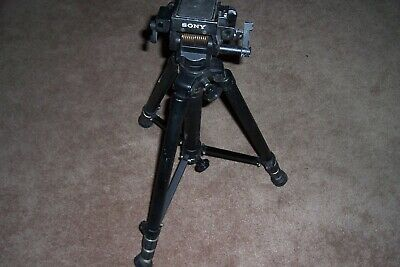 Sony VCT 100 Video Tripod  55-inch Pre Owned