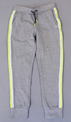 Rockets of Awesome Girl's Rainbow Stripe Active Jogger TM8 Gray Size 8 NWT