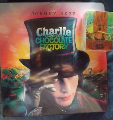 Charlie & Chocolate Factory Album/Binder/Folder - Plus Base Set - Johnny Depp