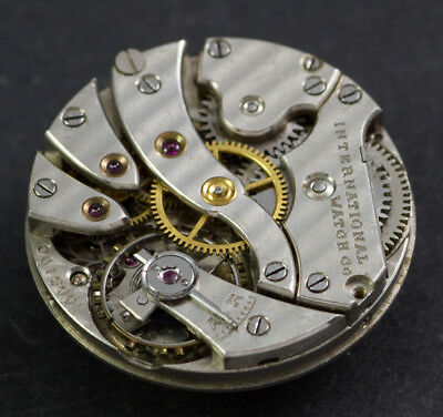 International Watch Co IWC vintage movimento da revisionare, aggiustare. spares