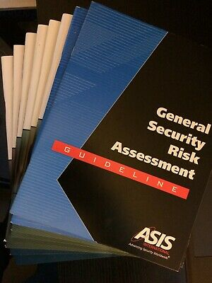 ASIS International CPP training manuals