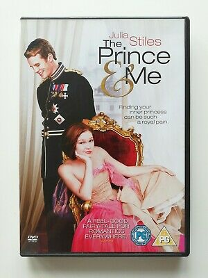 The Prince & Me DVD - Julia Stiles, Luke Mably - Excellent Condition D4