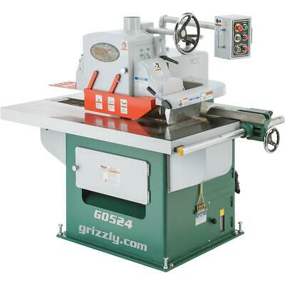 Grizzly G0524 15 HP 3-Phase Straight Line Rip Saw