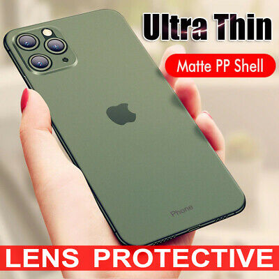 For iPhone 11 Pro XS Max XR X 8 7 Plus Shockproof Lens Protective Case Cover