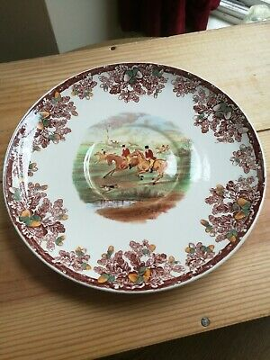 "Copeland Spode hunting scene plate 7 3/8"" The find no 6 stunning condition"