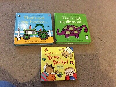 Three Toddler Board Books