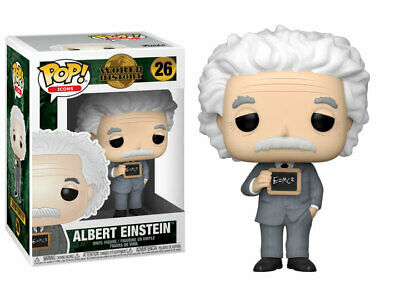 FUNKO POP! Icons 26 World History ALBERT EINSTEIN Vinyl Figure