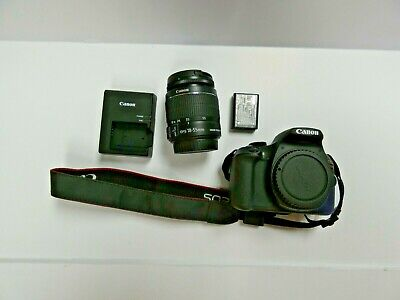 Canon EOS Rebel T6 With 18-55mm IS Lens