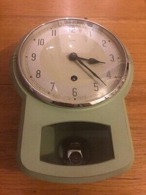 Enfield. 1940's Kitchen Clock....Totally Original....Gorgeous