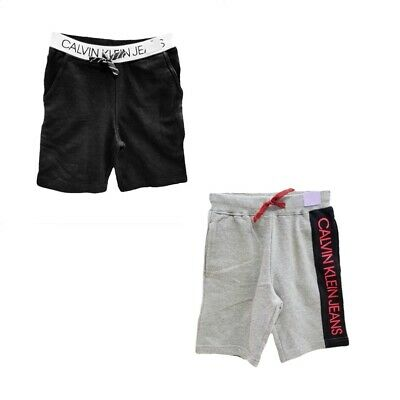 Calvin Klein Jeans Knit Shorts for Boys - Logo Waistband Side