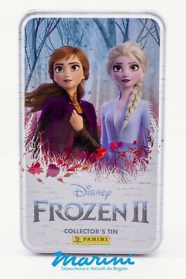 Panini Frozen 2 Il Segreto Di Arendelle - Tin Box Trading Card Collector's Tin