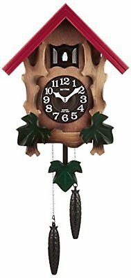 Rhythm Cuckoo Wall Clock COCKOO MELVILLE R w/Tracking# New from Japan
