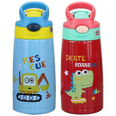 Vacuum Insulated Sippy Cup for Kids Double Wall Vacuum Insulated with Silicone S