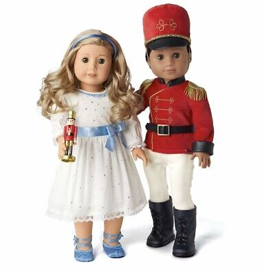 NEW AG American Girl Nutcracker Prince & Clara Outfit Set Limited Edition NISB