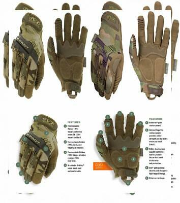 X-Large, Camouflage M-Pact Multicam Gants Mechanix Wear