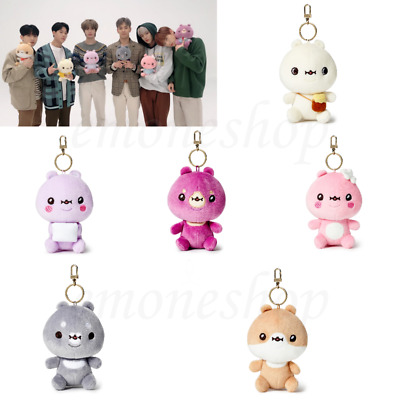 TWOTUCKGOM x MONSTA X 몬스타엑스 Sitting Plush Doll Keyring Toy Authentic Official MD
