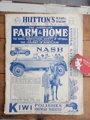 1927  farm & home Journal illustrated,  50 pages