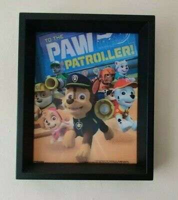 3D Paw Patrol Collectors Limited Edition Picture