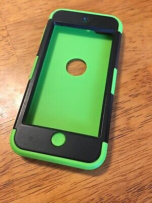 Case For 5th Generation iPod Green Black