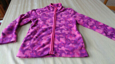 Falls Creek Girls Purple Lined Puffer Jacket Coat with Hood