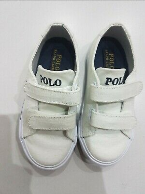 Polo Ralph Lauren toddlers white footwear