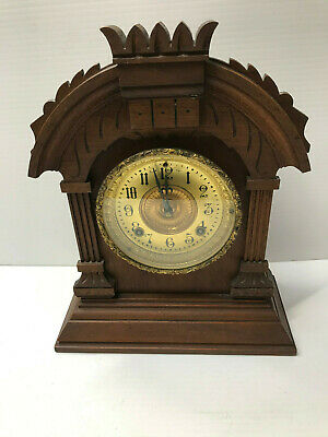 "Antique ""Tunis"" American Ansonia Mantle Clock"
