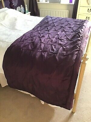 Debenhams Doublebed Throw/bedspread Purple