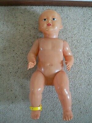 Vintage Celluloid Baby Boy Doll