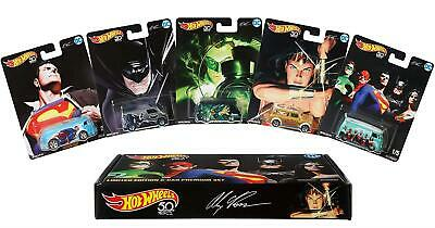 Hot Wheels Alex Ross Limited Edition Collector 5-Pack DC Super Heroes Mattel