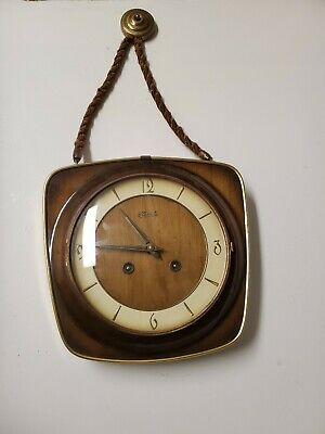 Franz Hermle & Sons German Vintage Wall Clock MADE IN GERMANY