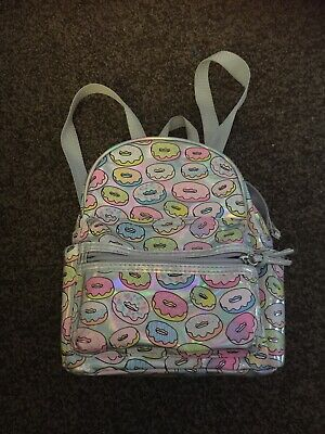 Claire's  accessories backpack Doughnuts Design