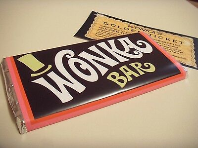 wonka bar wonka with golden ticket
