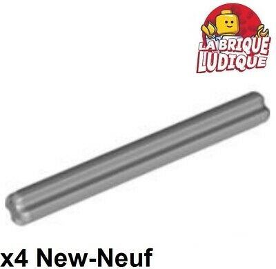 Axle Connector 3L Light Bluish Gray 5 NEW LEGO Technic