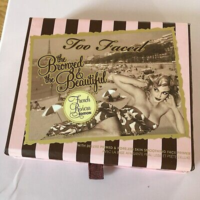french riviera too faced palette bronzer ancienne