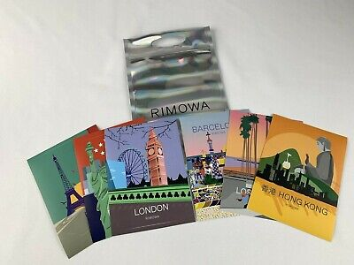 NEW (1) RIMOWA Authentic STICKER for Luggage (choose city of the world )