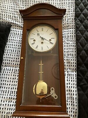 Comitti Of London Palladian Wall Clock Westminster Chimes - Model C3871CH