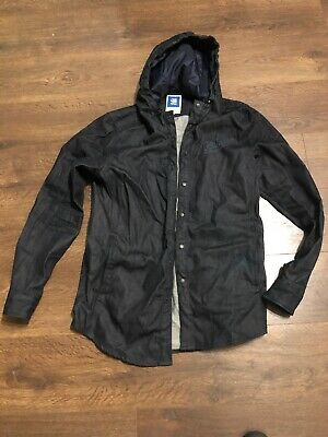 MENS AUTHENTIC G Star G star Gstar Raw Blue Navy Jacket Coat