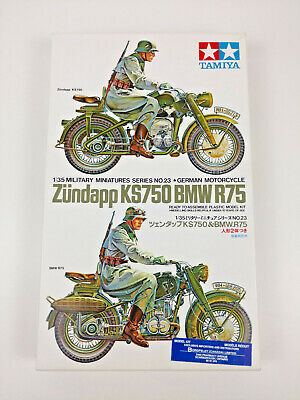 EDUARD 1//35 BMW R75 GERMAN MOTORCYCLE Photo-Etched DETAIL SET for TAMIYA 35023