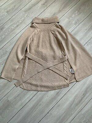 Girls Natural Mayoral Cape / Poncho 10 Years