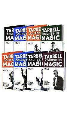 TARBELL COMPLETE COURSE IN MAGIC  1-8 Book Trick Set Magician Learn Lessons