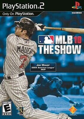 Mlb 10 The Show PS2 Playstation 2 Game Complete