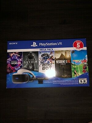 Sony PlayStation VR Mega Pack with 5 Five Game bundle Virtual Reality PS4
