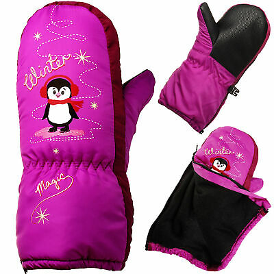 Mittens/Mittens - with Long Shaft + Zip - Sizes: 1 up To